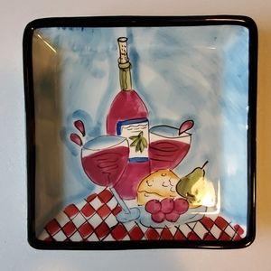 SALE🌞3/$30🌞 HausenWare Whimsical Wine Dish